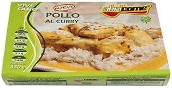 pollo al curry abricome racion individual calentar en microondas y ...