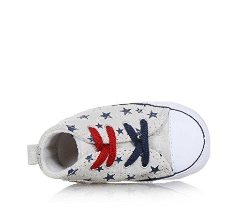 First Sneaker Bambino Star Unisex Bianco Converse blu 88875 Rw7F7q