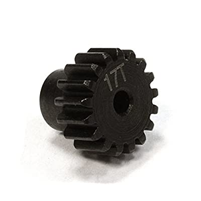 Integy RC Model Hop-ups C25891 Billet Machined 17T Pinion Gear for Traxxas LaTrax Rally 1/18 Scale