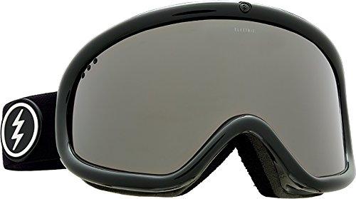 Electric Eyewear Unisex Charger Gloss Black Frame/Brose Silver Chrome Lens One - Uk Eyewear