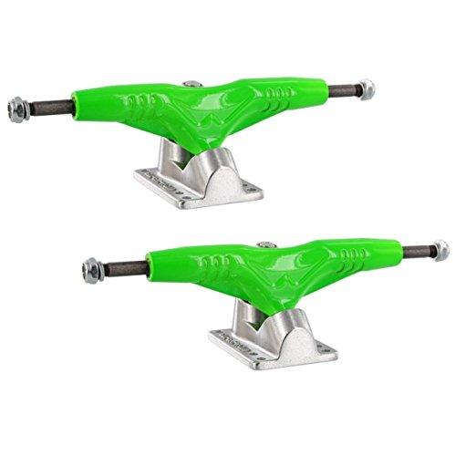 Gullwing Pro Iii 9.0 Green Silver Truck Skate Trucks