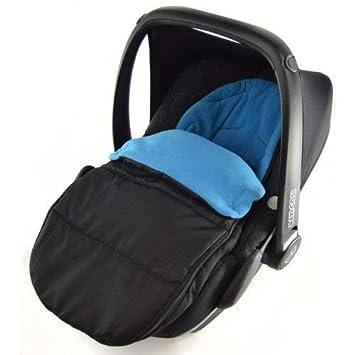 Saco de dormir para asiento de coche, compatible con Kiddy Evo Lunafix, color azul océano: Amazon.es: Bebé