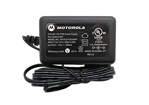 Motorola Power Supply Ac (Motorola 12V AC Adapter Model: MT20-21120-A04F P/N:503913-007)