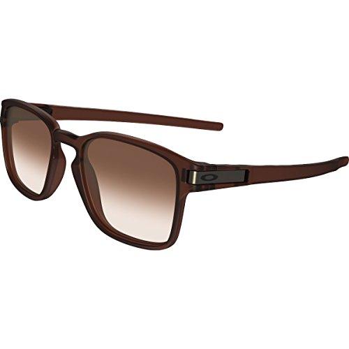 Oakley Men's Latch Squared Rectangular Sunglasses, Matte Rootbeer, 52 - About Oakley Sunglasses
