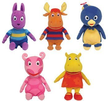 Ty Backyardigans Beanie Baby Set of 5 Beanie Babies by - Beanie Babies Backyardigans