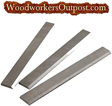 """HIGH SPEED STEEL JOINTER KNIVES,CRAFTSMAN  6-1//8 x 5//8 x 1//8/"""" NEW"""