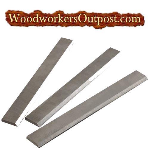 (12-1/2 x 11/16 x 1/8 Carbide Planer Blades - Foley-Belsaw, RBI, Woodmaster, Powermatic, Jet - Set of)