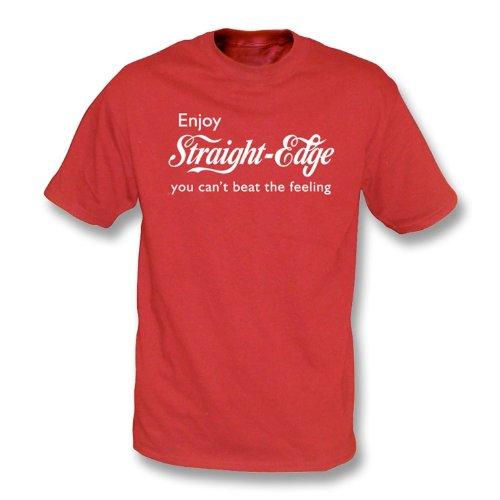 TshirtGrill Genießen Sie Latte-T-Shirt, Farbe- Rot