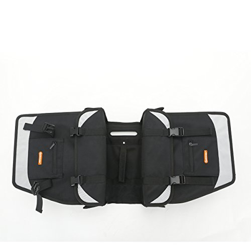 ONWAY Waterproof Mountain Bike Rack Bag Double Pannier Trunk Cargo Bags for Cycling Outdoor Sports