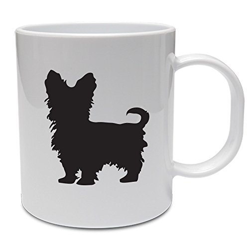 YORKSHIRE TERRIER SILHOUETTE Funny Gift Idea Ideal Dog Gift Dad Gift Grandad Gift Mum Gift Yorkie Dog Mug