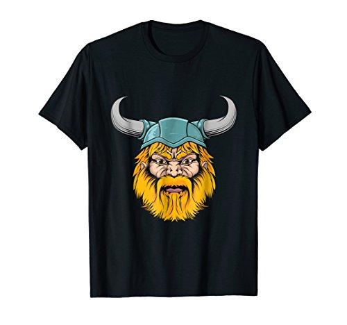 Mens Viking Mascot Viking Lovers Costume Gift T-Shirt