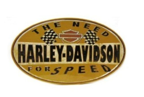 Tin Sign Oval - Harley-Davidson® Tin Sign Collection