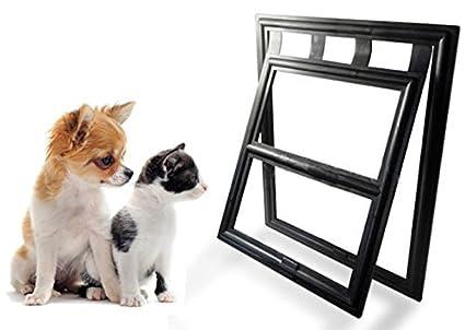 Petleso Dog Door Screen Lockable Pet Door For Screen Pet Door For