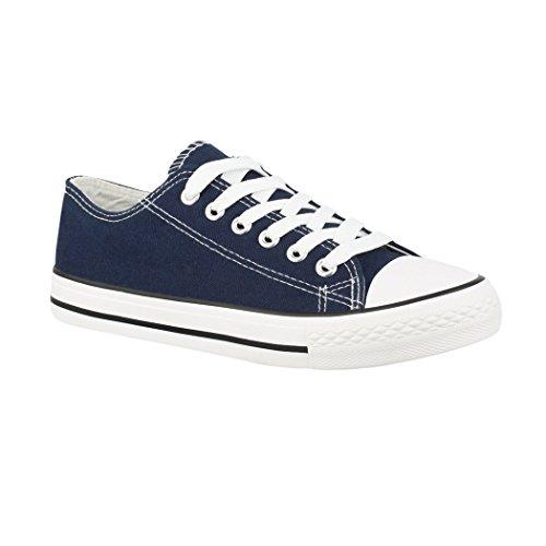 Elara - Sneaker Donna Navy Basic (F?llt Eine Nummer Gr??er Aus)