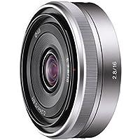 Sony Alpha 16mm F2.8 Wide-Angle E-Mount Fixed Lens for NEX-5 NEX-3   SEL16F28 - International Version (No Warranty)