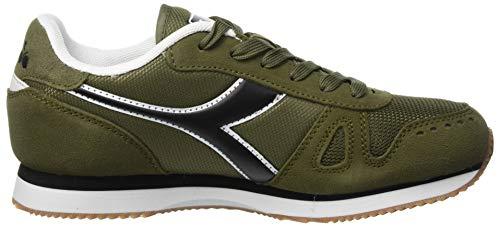 Bruciato 70431 Verde Oliva Uomo Run Sneaker Verde Diadora Simple wqO087Xx