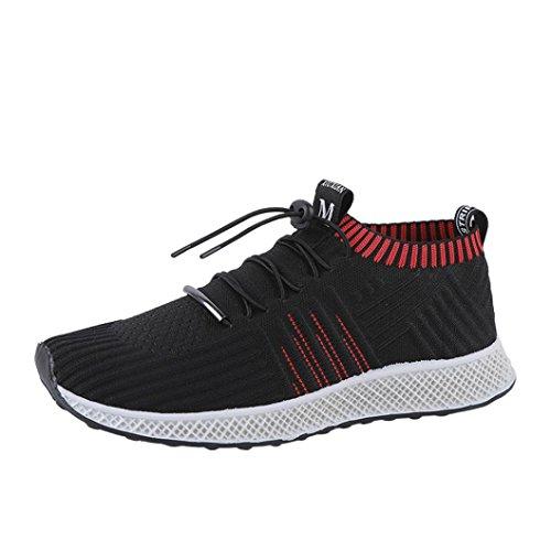 UOMOGO? Uomo Scarpe da Sportive Corsa Running Sport Sneaker Casual Outdoor Tennis Scarpe da Ginnastica Fitness Interior Casual all'Aperto (Asia 43