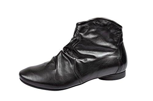 Botas negro Antideslizantes mujer Think 00 81288 cuero Think 1 schwarz Stiefeletten Guad in negro de 8B7wq7Oz
