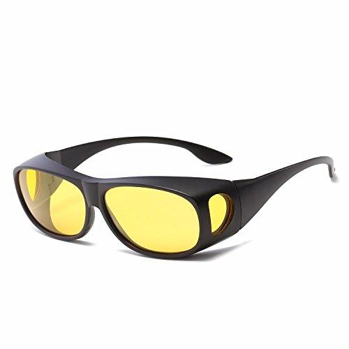 Gafas de Sol polarizadas Retro Gafas B Intellectuality Mujer C Ojos Sol de Hombre de Personalidad AqUdUPg1