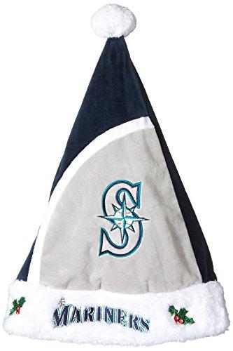 MLB Seattle Mariners Santa Hat, One Size, Green Mlb Santa