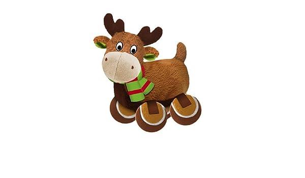 Kong Kong Holiday TenniShoes Peluches para Perro Reno Grande: Amazon.es: Productos para mascotas