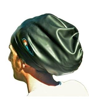 Bonnet de bain XXL pour dreadlocks, tresses, cheveux afro, tissages et  extensions de
