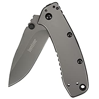 Kershaw Cryo II, 3.25-inch, Titanium Carbo-Nitride Coating, 4-Position Deep Carry Pocket Clip