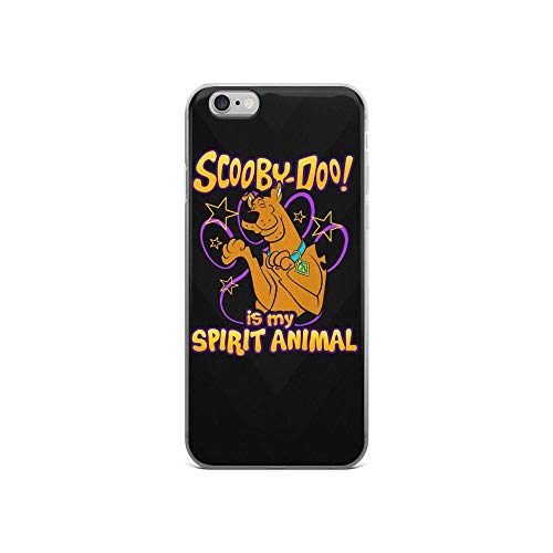 iPhone 6/6s Pure Clear Case Cases Cover Scooby My Spirit Animals Funny Cartoon TPU Anti Bumps Scratches Protective
