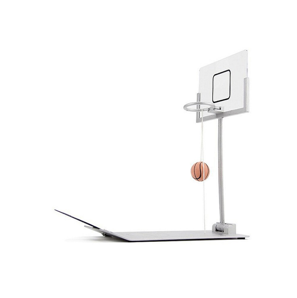 Fengirl Creative Funny Desktop Miniature Basketball Game Toy, Fun Sports Novelty Toy Gag Gift Idea (Gray) by Fengirl (Image #2)