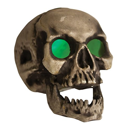 [Skull with Light Up Eyes (As Shown)] (Disneyland Haunted Mansion Costume)
