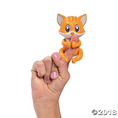 Fun Express Friendlies Mood Changing Mini Finger Puppet Pal Toy Gizmo The Cat