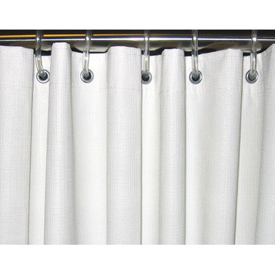 Heavy Duty Textured Shower Curtain Size 42quot X 72quot