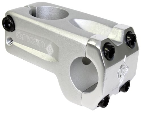 Origin8 Fix-8 Ahead Stem (50mm length, 33mm stack height), Silver (Height Stems)