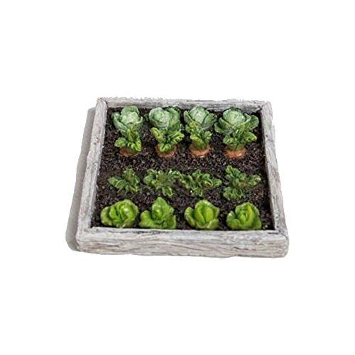 Miniature World MW02-011 Resin Ornament of a Vegetable Garden