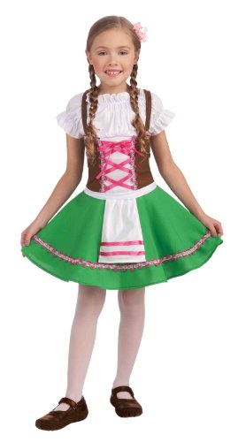 Forum Novelties Gretel Costume, Medium (Dirndl German Girls)