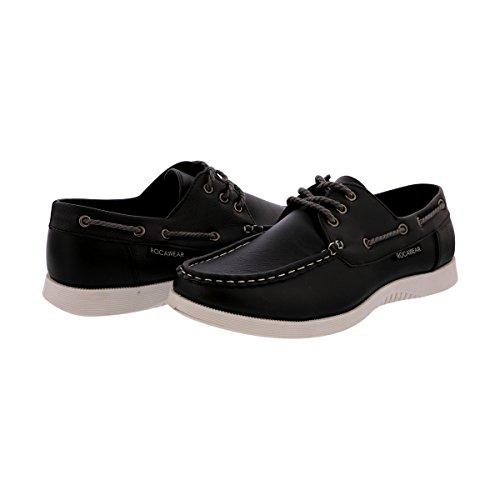 Rocawear - Chaussures De Bateau Pour Hommes - Noir