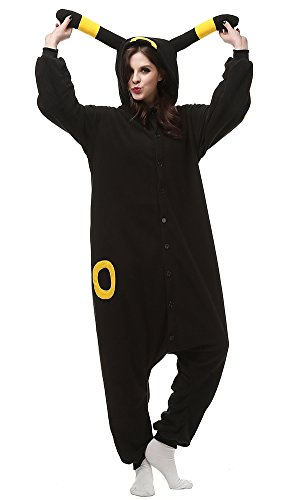 Decahome Unisex Adult Yellow Month Elves Pyjamas Halloween Costume One Piece Animal Cosplay Onesie Large Height from 168CM-177CM (66