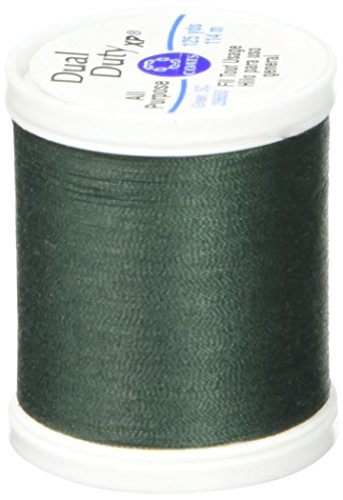 Coats: Thread & Zippers Dual Duty XP General Purpose Thread, 125-Yard, Forest Green ()