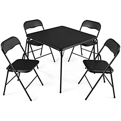 giantex-5-piece-folding-table-and
