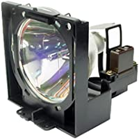 Sanyo PLC-XP20 Replacement Projector Lamp (Original Philips Bulb Inside) with Housing by KCL