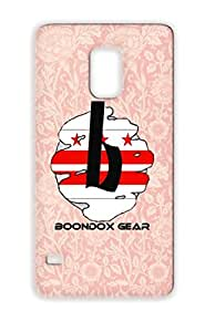 Boondox Gear Dc White Scratch-free Protective Case For Sumsang Galaxy S5 GEAR Music Rock Metal DC