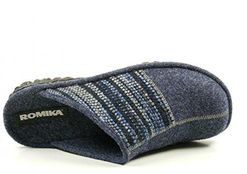Romika Mikado H 53 - Pantuflas Hombre Mehrfarbig (blau-multi (502))