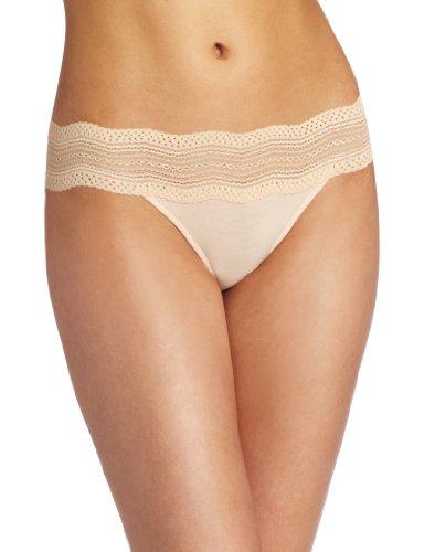 Cosabella Women's Dolce Vita Low Rise Bikini Panty, Blush, Medium