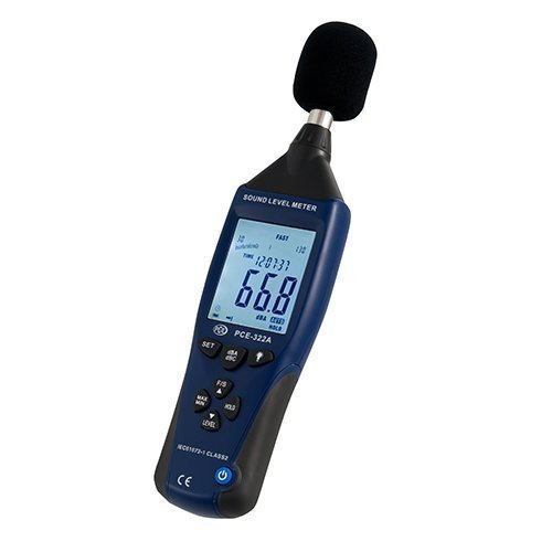 PCE Instruments Sound Level Meter PCE-322 A to record sound levels by PCE Instruments