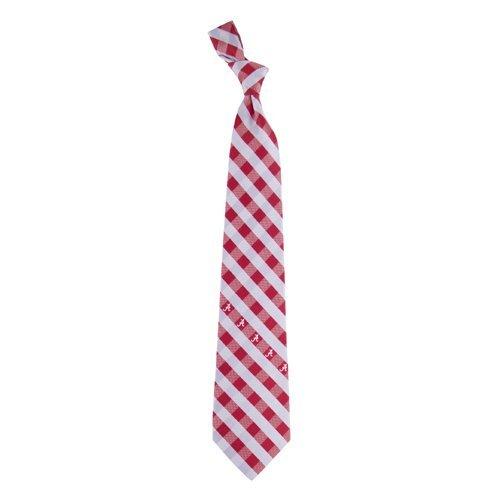 Alabama Check Poly Necktie