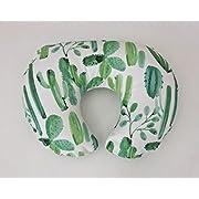Nursing Pillow Cover - Watercolor Cactus
