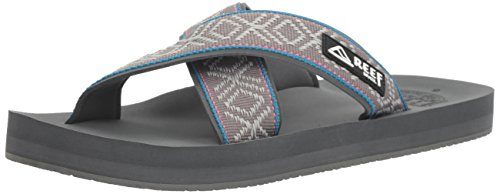 Flop Men's Sandal Flip Crossover Reef Grey I8pqp
