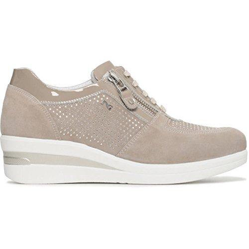 Giardini Femme Basses Sable Nero Sneakers dqw4ad1
