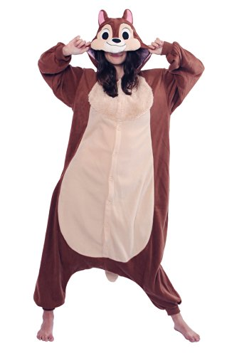 Disney Adults Onesie (Medium, Chip) ()