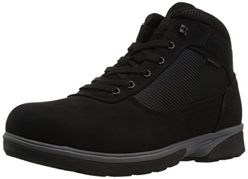 Lugz Men's Zeolite Mid Fashion Boot, Black/Charcoal, 10.5 D - Charcoal Zeolite